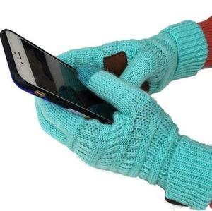 C.C. Hand knitted Touch Screen Gloves